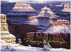 Canyon Holiday Card H3154G-AAA
