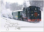 Snow Train Holiday Card H3164U-AA