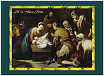 Nativity Christmas Card H3167U-AA
