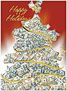 Holiday Money Tree Card H3175U-AA