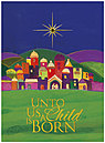 O Little Town Christmas Card H3176U-AA