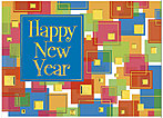 New Year Blocks Card H3177D-AA