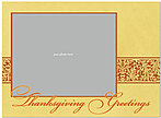 Thanksgiving Greetings Photo Card D3113U-4B