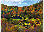 Fall Business Thank You Card H3091G-AAA