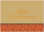 Classic Thanksgiving Card H3094G-AAA