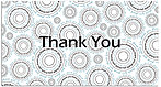 Thank You Spirals Card A4258T-Z
