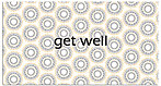 Get Well Spirals Card A4260T-Z