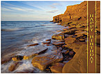 Red Rock Coast Birthday Card A4002G-W
