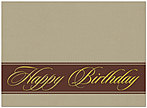 Birthday Simplicity Card A4022U-X