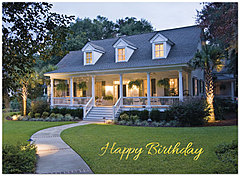 Weekend Retreat Birthday Card A4026U-X