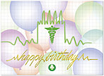 Vital Birthday Card A4029U-X