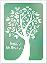 Birthday Money Tree Card A4030U-X