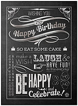 Birthday Cheer Card A4040U-X