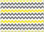 Birthday Chevron Card A4043D-X