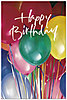 Balloon Party Postcard A4055P-ZZ