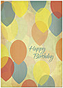 Rising Happiness Birthday Card A4057KW-X