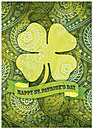 Celtic Patterns Card D4072D-Y