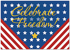 Celebrate Freedom Card D4076D-Y