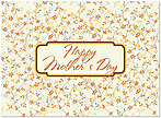 Patterned Mother's Day Card D4084U-Y