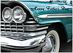'57 Plymouth Father's Day Card D4086U-Y