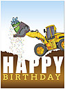 Dozer Surprise Birthday Card D4106U-Y
