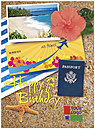 Travel Logo Card D4110U-V