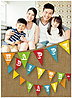 Birthday Banner Photo Card D4195U-V