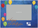 Party Balloons Photo/Logo Card D4197U-V