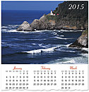 Heceta Head Lighthouse Wall Calendar C4153U-AA