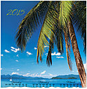 Beach View Wall Calendar C4154U-AA
