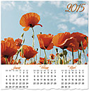 Poppies Wall Calendar D4157U-AA