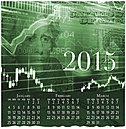 Money Market Wall Calendar D4159U-AA