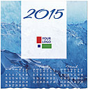 Blue Waters Logo Wall Calendar D4170U-4A