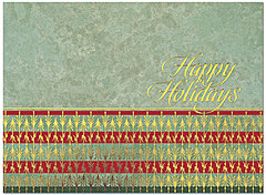 Ornate Holiday Card H4207G-AAA