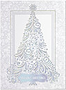 Shimmering Winter Holiday Card H4212S-AAA