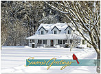 Snow Home Holiday Card H4214U-AA