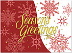 Snow Drift Holiday Card H4216U-AA