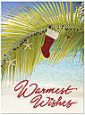 Beach Stocking Holiday Card H4230U-AA