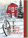 Country Holiday Card H4238U-A