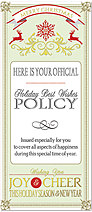 Cheer Policy Card H4240L-AA