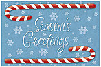 Candy Cane Postcard H4241P-BB