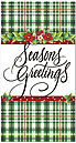 Plaid Tidings Holiday Card H4242T-B