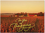 American Farm Thanksgiving Card H4125G-AAA