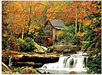 Grist Mill Thanksgiving Card H4127G-AAA