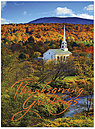 Autumn in Stowe Thanksgiving Card H4134U-AA