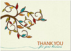 Thank You Branch Thanksgiving Card H4140KW-AA