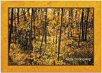 Sunlit Timber Thanksgiving Card H4141KW-AA
