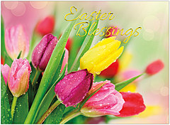 Easter Blessings Card A4066U-X
