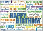 Birthday Celebration Card A5012U-X