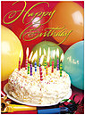 Birthday Wishes Greeting Card A5018U-X